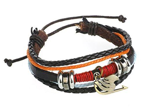 CoolChange Fairy Tail Wickel Armband mit Anhänger