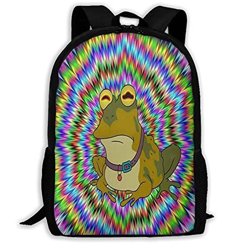 Hongfeimaoyi O_Bey F_Rog 3D gedruckter modischer Tagesrucksack Schultasche Laptop Rucksack Schulrucksack Reise Daypack für Jugendliche Erwachsene