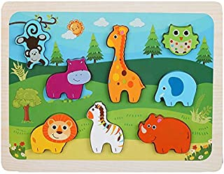 BERRY Animal Puzzle Board Wooden