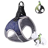 Dog Harnesses for Small Dogs, Choke Free Dog Vest Harness with high-Visibility Reflective Stripe, All-Weather air mesh, for Puppy Training by moooope.