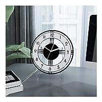 ブラケット時計ヨーロピアンスタイルの時計リビングルーム大きな無垢材のテーブル時計クリエイティブな時計レトロな装飾中国の時計アラビア語のデジタル時計ホーム屋外