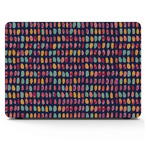 MacBook Pro Protector Natural Seaside Colorful Stone Pebble Plastic Hard Shell Compatible Mac Air 11' Pro 13' 15' MacBook Air Covers Protection for MacBook 2016-2019 Version
