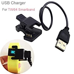 ❤️Onput : DC 5V 2.0A ❤️Replacement for lost or damaged cables. ❤️Package included: 1 x USB Charger for TW64 / TW07 Smart Bracelet (No retail box! Accessory only! Not included Smart Bracelet!) 1ft 2ft 3ft 4ft 5ft 6ft 7ft 8ft 9ft 10ft 12ft 15ft 20ft 25...