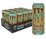 Monster Energy Java 300 French Vanilla, Triple Shot, Robust Coffee + Cream, 15oz (Pack of 12)