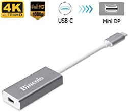 Bincolo USB C to Mini DisplayPort Adapter, USB-C Type-C(Thunderbolt 3) to Mini Display Port 4K 60HZ Adapter for MacBook Pro, New MacBook, LED Cinema Display