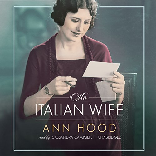 An Italian Wife audiobook cover art