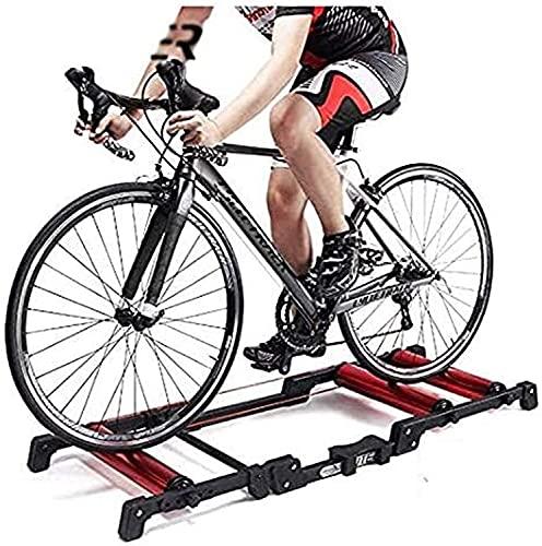 LBWARMB Fluid Bike Trainer Stand Bicicleta de Bicicleta Bicicleta Plegable - Rodillo...