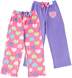Image of 2 Pack Hearts Girls Pajama Pants - See More Designs