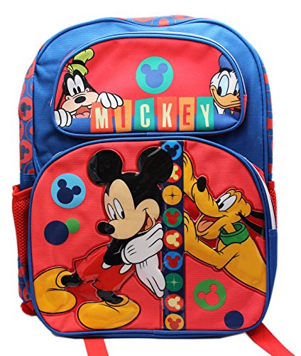 Disney Mickey Mouse and Friends 16' School Backpack Bag