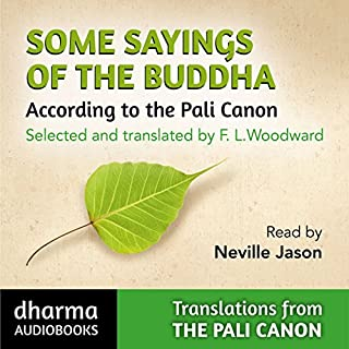 Some Sayings of the Buddha audiobook cover art