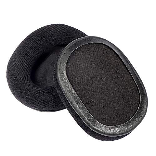 Dedepeng Almohadillas para auriculares Logitech G Pro/G Pro X de repuesto de piel suave con memoria