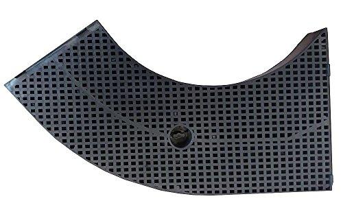 Aktivkohlefilter für Dunstabzugshauben von Bosch, Siemens, Electrolux, Juno, Indesit, Whirlpool und Ikea - 1 Stück