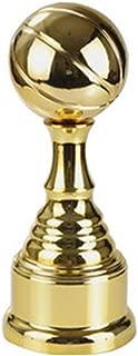 Golden Trophy Champions League Trophy Interior Decoration Football La Liga Premier League Marble Base Medal Model (Color : Gold, Size : 331313cm)