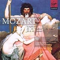 Mozart: Symphonies No. 32, 35 Haffner, 36 Linz, 39, and 41 Jupiter
