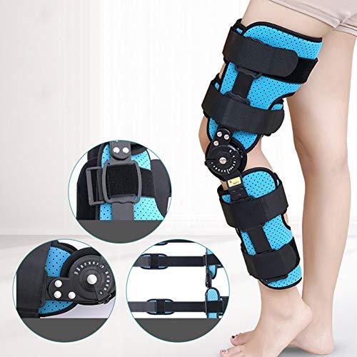 Justerbart knäledsstöd nedre kantstöden Humerus menisk rehabilitering tränare knäfraktur fast ledskydd