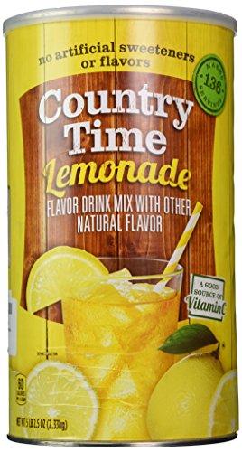 Country Time Lemonade - makes 34 quarts