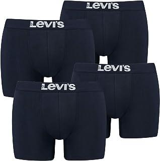 4-Pack Men's Levis Solid Basic Boxer Brief Boxershorts Underwear Pants