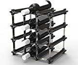 9 NOOK Wine Rack - Easy 2 Step Assembly – Capacity: 12 Bottles