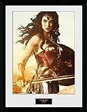 GB eye Ltd Wonder Woman, Sword Kunstdruck, gerahmt, 30x