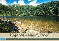 Vogesen - wunderschoen (Wandkalender 2022 DIN A3 quer): Die einzigartige Bergwelt der Vogesen zieht jeden Naturliebhaber in ihren Bann (Monatskalender, 14 Seiten )