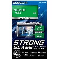 エレコム 液晶保護フィルム ガラスフィルム 高光沢 AR 極薄 FUJIFILM X-A5 専用 DFL-FXA5GG02