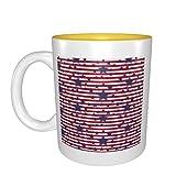 Bandera de Estados Unidos mejor idea regalo de cumpleaños para tazas de porcelana