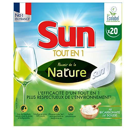 Sun Spülmaschinentabs, umweltfreundlich, 20 Waschgänge