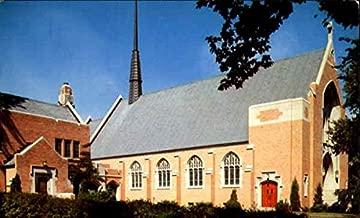 Holy Family Catholic Church Mason City, Iowa Original Vintage Postcard