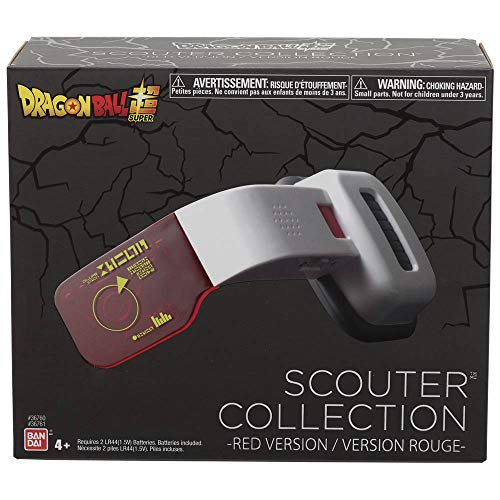 Dragon Ball Super-Scouter Deluxe (Rouge), 36821