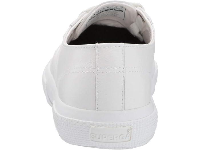 Superga 2750 Nappaleau Zapillas White/gold Sneakers & Athletic Shoes