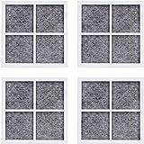 Poweka - Filtro de aire para frigorífico lT120F para repuesto de filtro de aire fresco para frigorífico LG/Kenmore 469918, ADQ73214402, paquete de 4