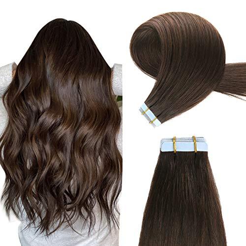 Yilite Medium Brown Extension for Thin Hair