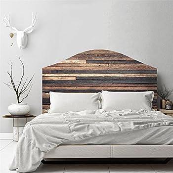 Amazon Com Amazingwall Bed Headboard Sticker Wall Decal Art Mural Wallpaper Self Adhesive Diy Home Decoration Home Kitchen