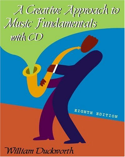 Price comparison product image A Creative Approach to Music Fundamentals (with CD-ROM)