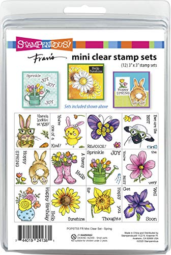 Stampendous Spring Clear Stamp Set