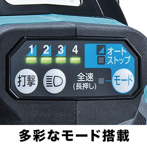 マキタ(makita)充電式インパクトレンチ18V6Ahバッテリ2本・充電器・ケース付TW300DRGX
