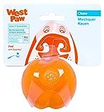 West Paw Jive Tough Dog Chew Toy Tangerine (Large)