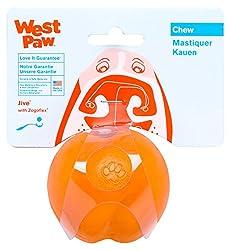 Bull terrier toys - West Paw Design Zogoflex Ball