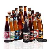 Pack Cervezas Belgas Petrus con abridor | x16. Brouwerij de Brabandere | Incluye Bavik Super Pils & Petrus Nitro Cherry, medalla de oro en los WORLD BEER CHALLENGUE 2021