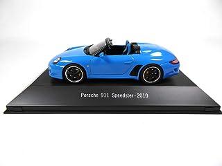Atlas Porsche 911 Speedster (997) 2010 blau1 / 43   Ref: 4011