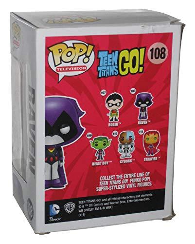 Figurine Pop ! Television 108 - Teen Titans Go ! - Raven (Orange)