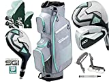 Wilson PROSTAFF SGi Ladies 2019 Set DE 10 PIÈCES DE Golf Complet ET Sac DE Panier DE Golf pour PROSTAFF Main Droite