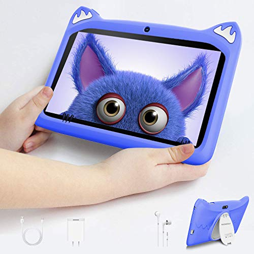 Tablet 7 pollici con WiFi Offert , Tablet PC in Offerta 1.5GHz Quad Core 3GB RAM 32GB ROM /128GB tablet pc 7 pollici per Bambini Android 10 con YouTube Netflix e Wi-Fi Google Play (blu)