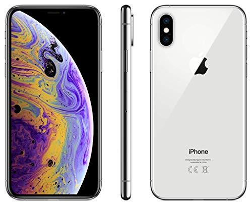Apple iPhone XS, 256GB - Silber (Generalüberholt)