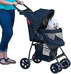 Pet gear Happy Traills Stroller, one of the best selling dog strollers available
