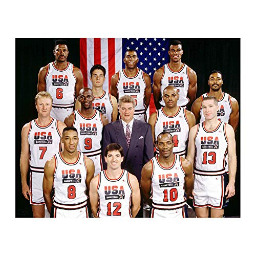 Generic USA Basketball 1992 Dream Team Poster Print Wall Decor 24x32 Inches Photo Paper Material Unframed