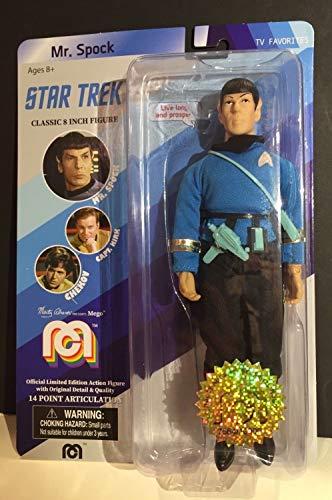 Mego: Star Trek Classic 8 Inch Action Figure Mr. Spock