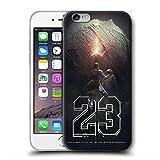 SDKMOVREQ Funda iPhone 7 Plus/Funda iPhone 8 Plus Case Michael J NO.23 Estuche Transparente TPU Transparente Protector Transparente Cubierta de teléfono Celular