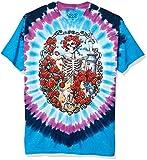 Liquid Blue Men's Grateful Dead 30Th Anniversary Short Sleeve T-Shirt,Multi,Large