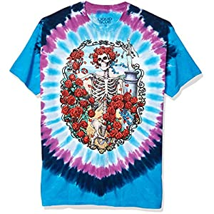 Liquid Blue Men's Grateful Dead 30th Anniversary Short-Sleeve T-Shirt